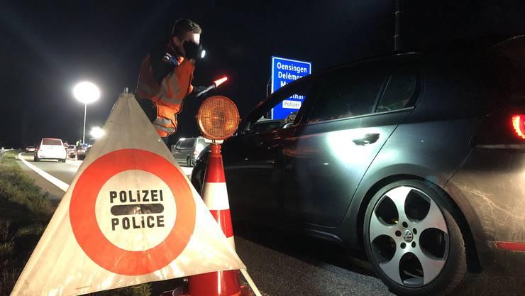 Vom Montagnachmittag, 18. November 2019, bis in die Nacht auf Dienstag fanden in mehreren Kantonen der Nordwestschweiz intensive Fahndungs- und Verkehrskontrollen statt.