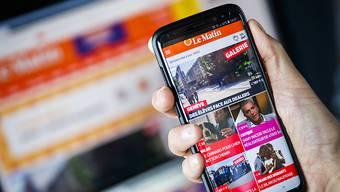 """Keine gedruckte Ausgabe mehr: """"Le Matin"""" erscheint künftig nur noch online."""