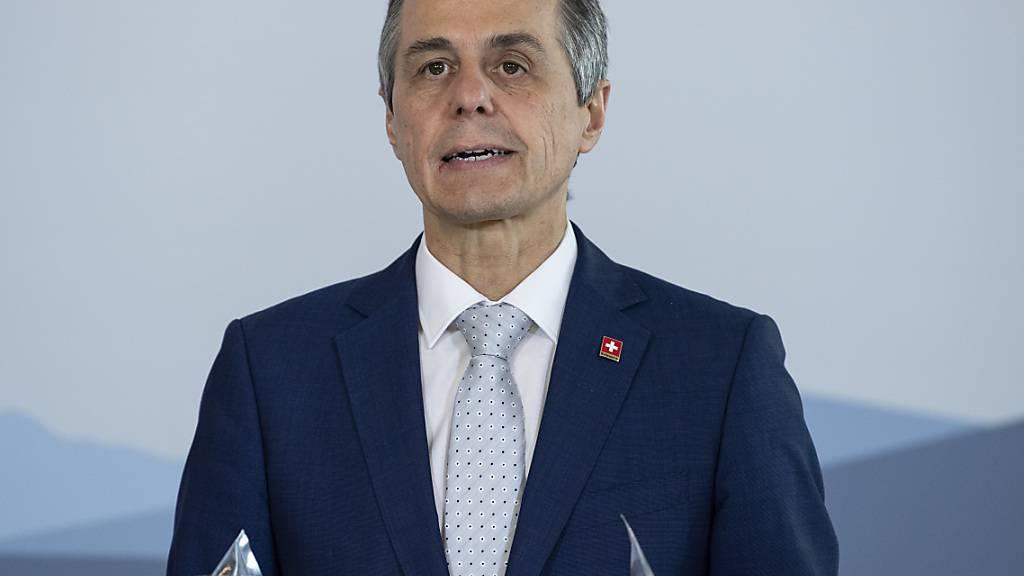 Aussenminister Cassis verteidigt Äusserungen über China