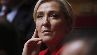 Will bei den französischen Präsidentschaftswahlen 2022 antreten: die Rechtspopulistin Marine Le Pen. (Archivbild)