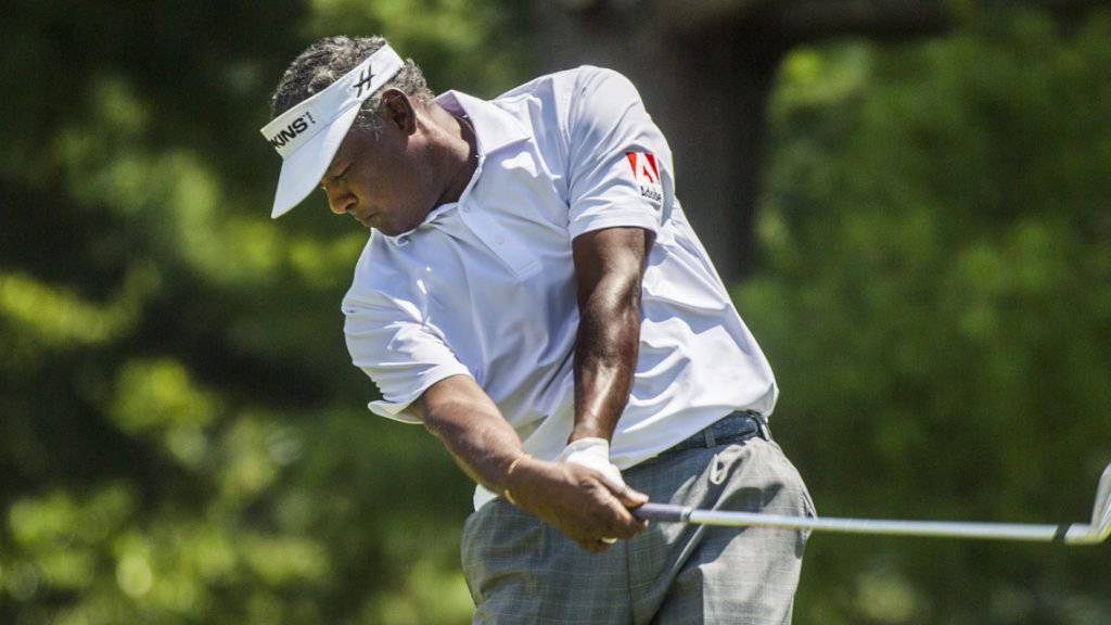 Vijay Singh zeigt auch mit 53 Jahren noch erstklassiges Golf