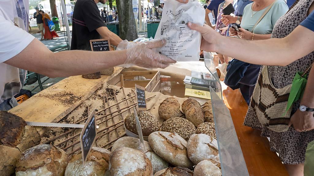 Haushalte geben 636 Franken für Nahrungsmittel aus