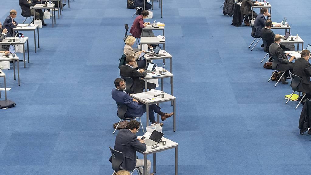 Die FDP-Fraktion forderte in ihrer Motion Massnahmen für einen effizienteren Ratsbetrieb. (Archivbild)