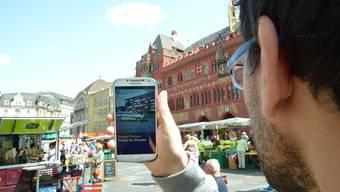 Apps der Stadt Basel