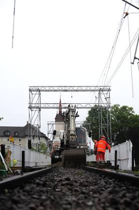90 Meter Brücke werden in zwei Etappen saniert.