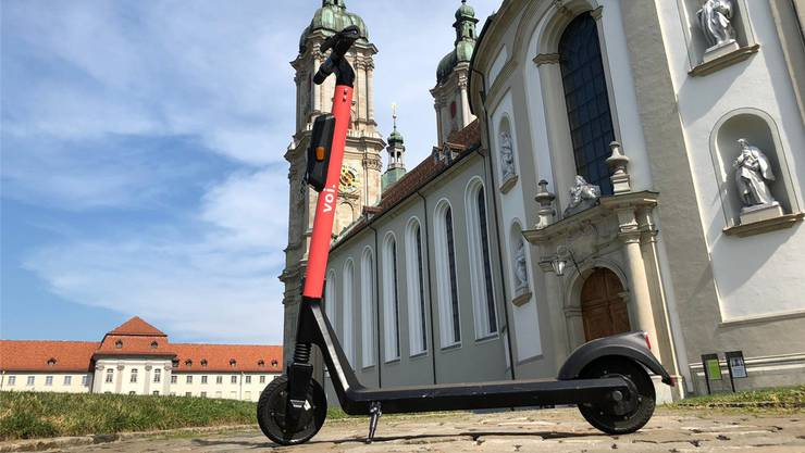 E-Scooter erobern nun St.Gallen.