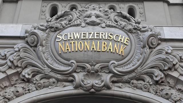 Die Schweizerische Nationalbank in Bern