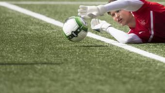 In Hoffenheim bald die Nummer 2, in der U21 als Goalie gesetzt: Gregor Kobel