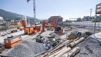 Die Wiederverwendung im Bauprozess muss laut Bundesamt für Umwelt verstärkt werden. (Symbolbild)