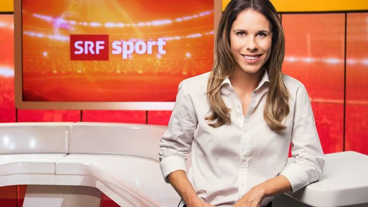 Sibylle Eberle: Moderatorin sportaktuell
