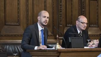 Joël Thüring, Basler SVP-Grossrat: «Der Vorstoss ist fehlerhaft und müsste eigentlich alleine schon deshalb zurückgezogen werden.» (Archivbild)
