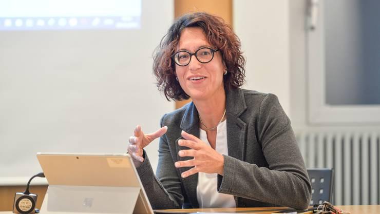 Gemeindeschreiberin Manuela Fritschi.