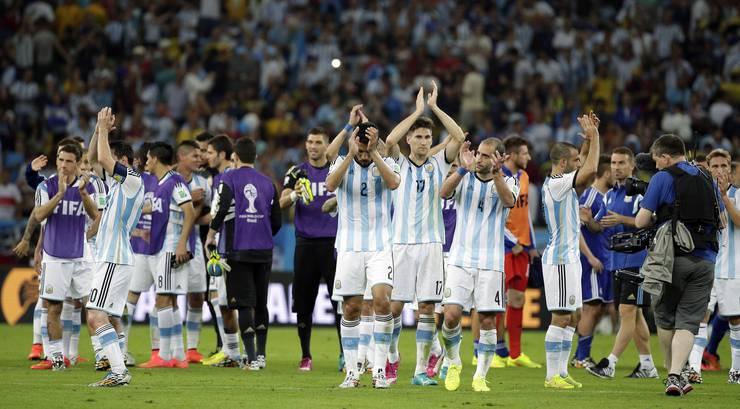 Argentinien hat gewonnen, wenn auch nur knapp mit 2:1.