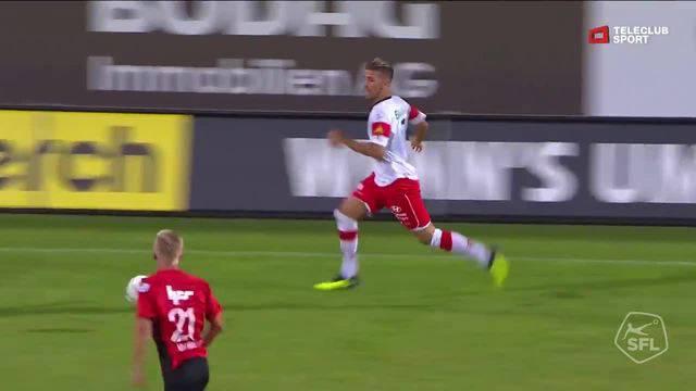 Challenge League 2018/19, 2. Runde, FC Winterthur - FC Aarau, 3:0 Davide Callà