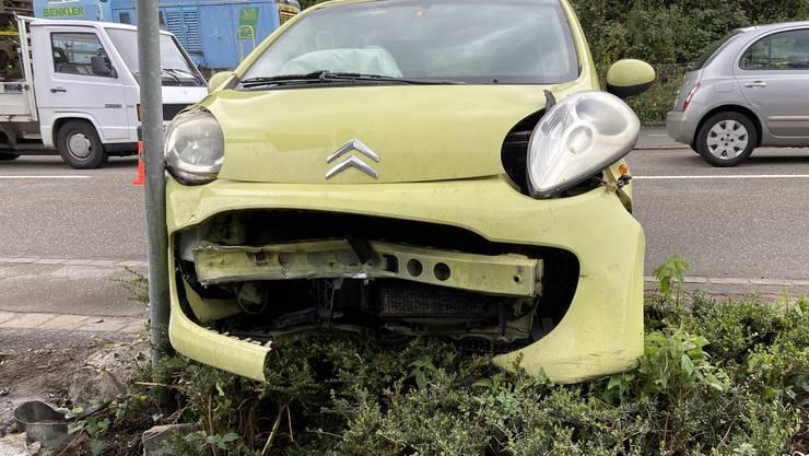 Der Citroen-Lenker musste, gemäss eigenen Angaben, einem Fahrzeug ausweichen.
