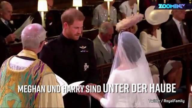 Royale Traumhochzeit: Die romantischsten Augenblicke von Harry und Meghan