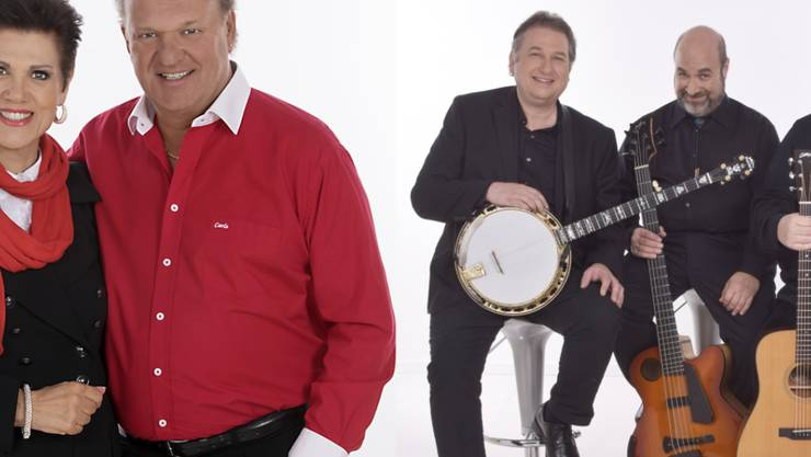 Wie Fondue und Big Mac: Maja und Carlo Brunner gehen mit den Krüger Brothers auf Tournee. (Pressebilder)