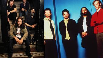 Soundgarden heute und früher.