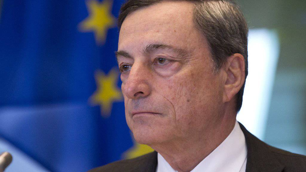 Briten werden wirtschaftlich stärker unter dem Brexit leiden als die verbleibenden EU-Staaten: Diese Prognose gibt EZB-Chef Mario Draghi ab. (Archivbild)