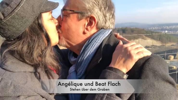 Beat und Angélique Flach betonen: «Es gibt keinen Flach-Graben»
