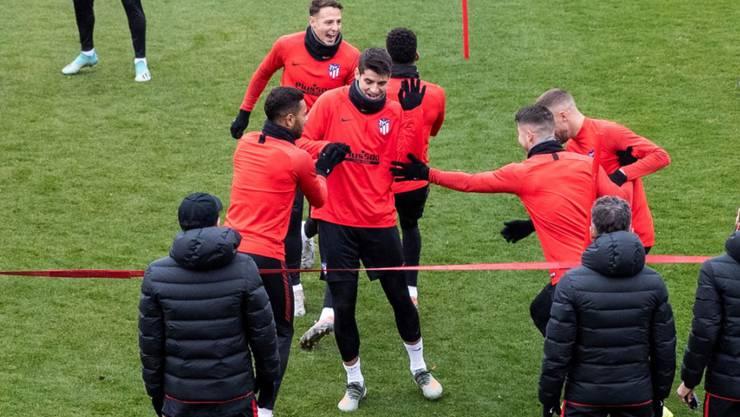 Mit einem Sieg will auch Reals Stadtrivale Atlético vorzeitig das Achtelfinal-Ticket lösen
