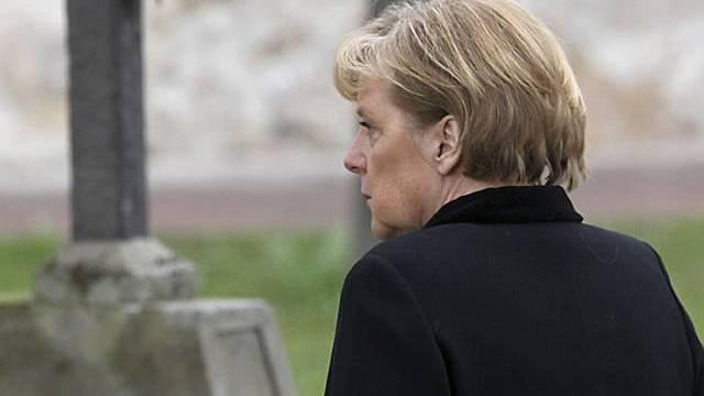 Kanzlerin Angela Merkel zeigte Anteilnahme