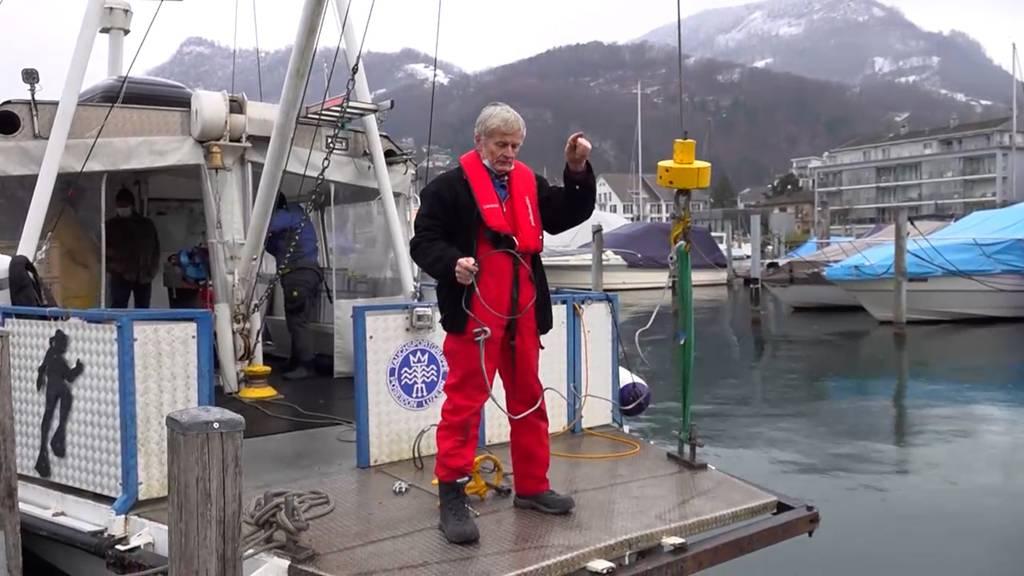 Verborgene Schätze: Der Unterwasser-Tüftler