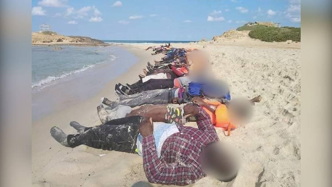 Libyen: Mehr als 90 Flüchtlinge bei Bootsunglücken ertrunken
