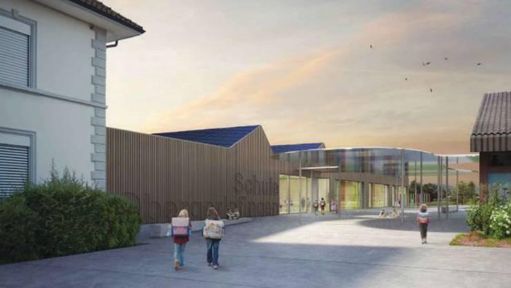So wird das Projekt Toblerone der Schule Obergerlafingen visualisiert.