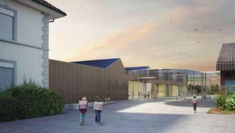 Das Projekt Toblerone der Schule Obergerlafingen als Visualisierung.