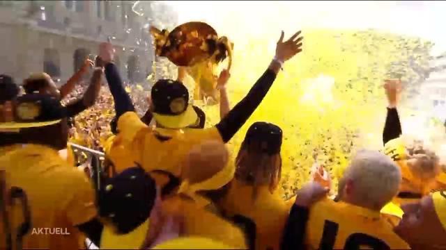 30'000 Fans feiern mit den Young Boys