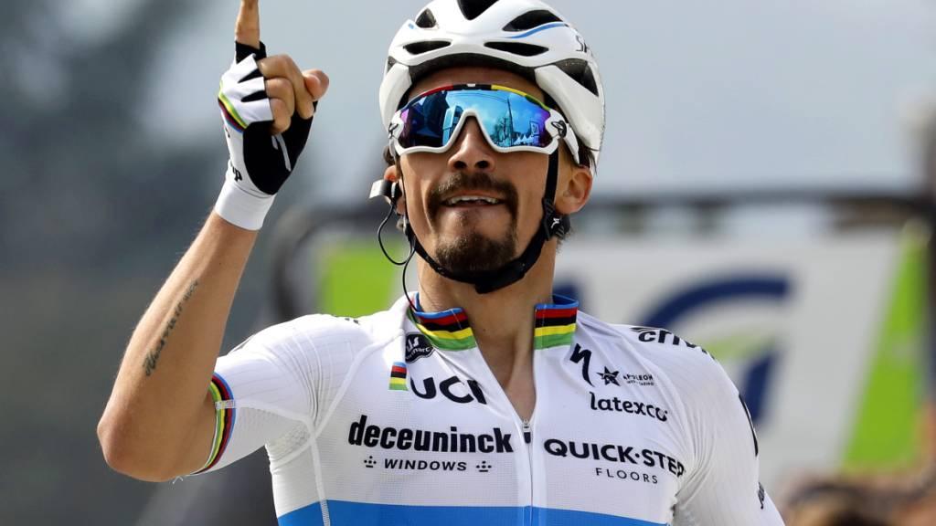 Tour de Suisse mit Alaphilippe und Van der Poel