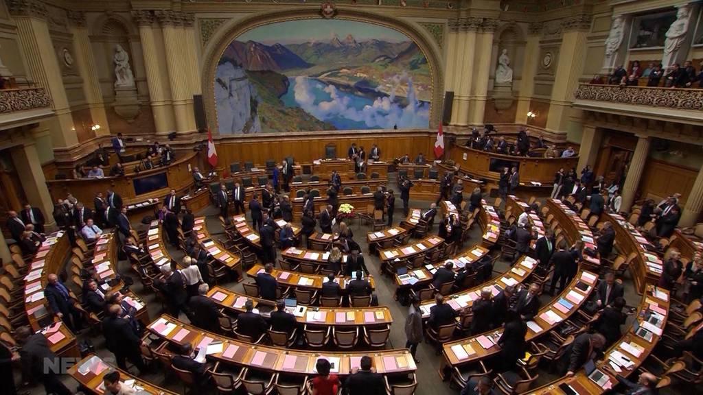 Wie war die erste Session für die neuen Nationalräte?
