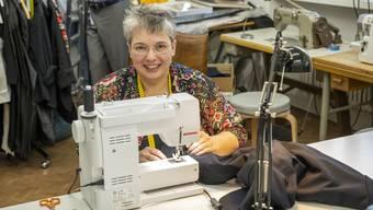 Nach ihrer Lehre hatte Susanne Trottmann eine Zeit lang drei Jobs. Seit 25 Jahren hat sie ihr Schneiderei-Atelier.