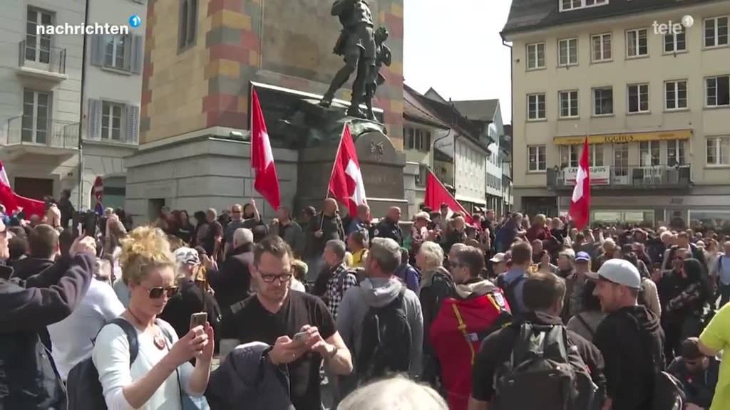 Reaktionen auf die Corona-Demo in Altdorf