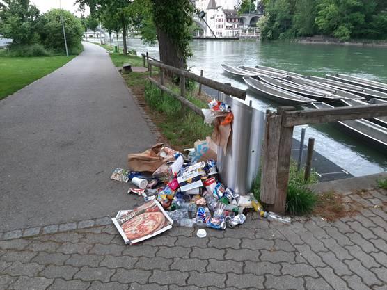 Letzten Montag (11. Mai) bot sich ein unansehnliches Bild in Bremgarten.