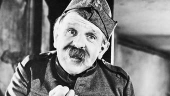 Alfred Rasser (1907–1977) in seiner Rolle als HD Läppli.
