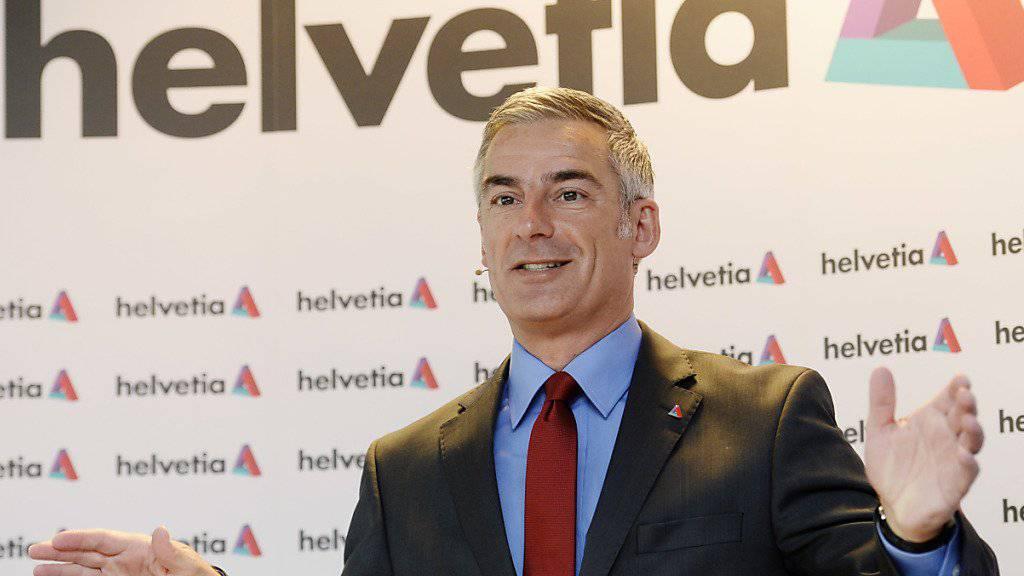"""Helvetia-Chef Stefan Loacker ist zufrieden mit dem Halbjahresergebnis: """"Mit den erreichten Resultaten sind wir finanziell und strategisch voll auf Kurs."""""""