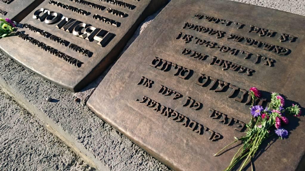Ukraine erinnert an Massaker von 1941 an den Kiewer Juden