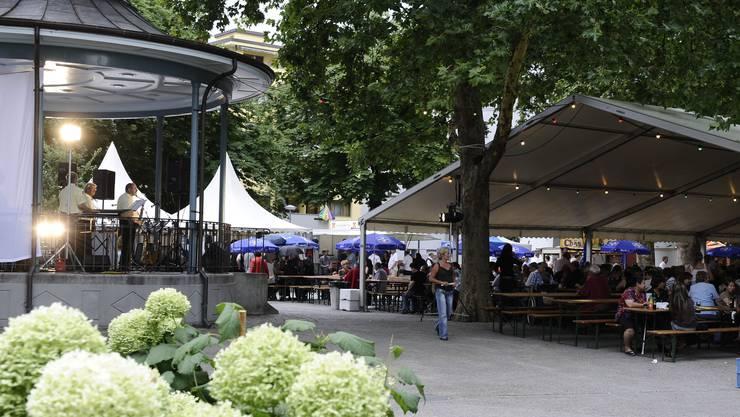 Am Claramatten-Fest werden vorallem Gross- und Kleinbasler erwartet.