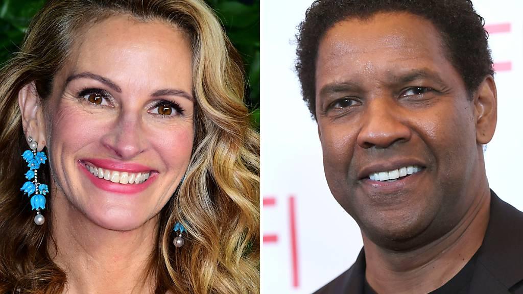 Julia Roberts und Denzel Washington drehen Drama für Netflix