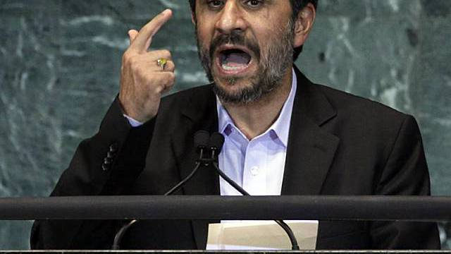 Greift den Westen an: Irans Präsident Mahmud Ahmadinedschad