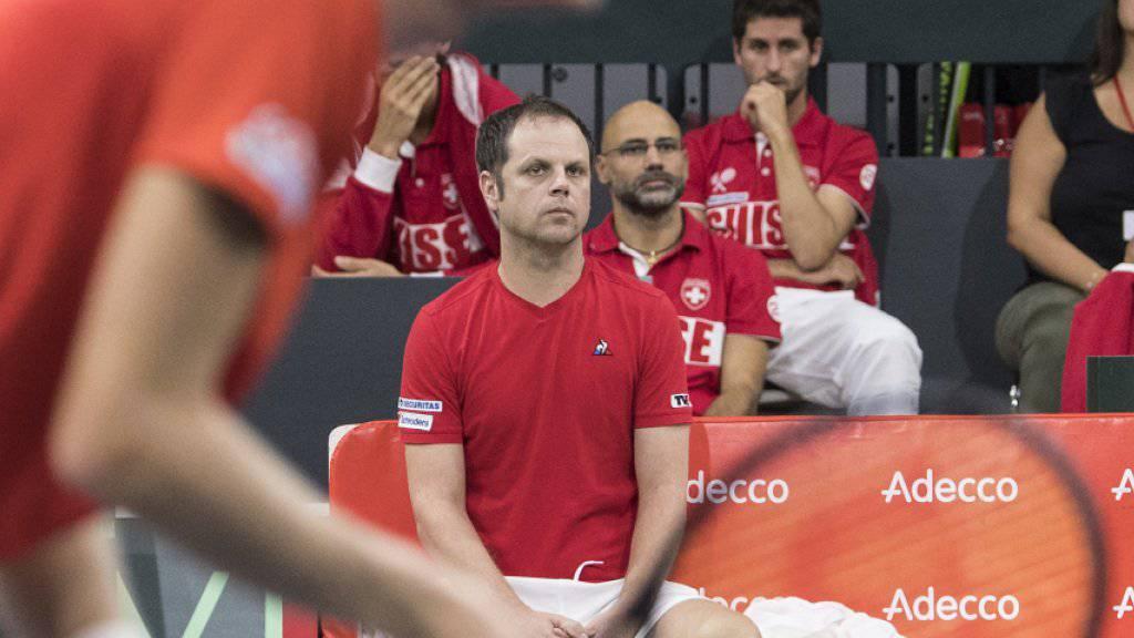 Auch 2019 in der Weltgruppe: das Schweizer Davis-Cup-Team