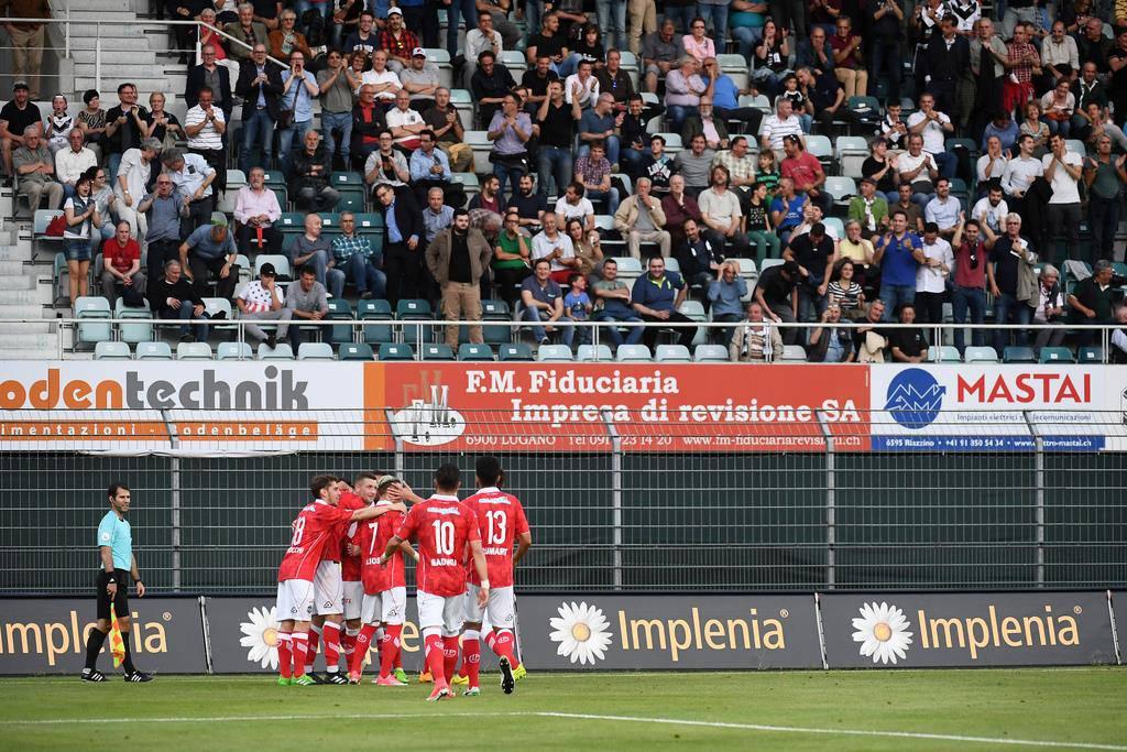 FC Lugano - FC Lugano (© Keystone)