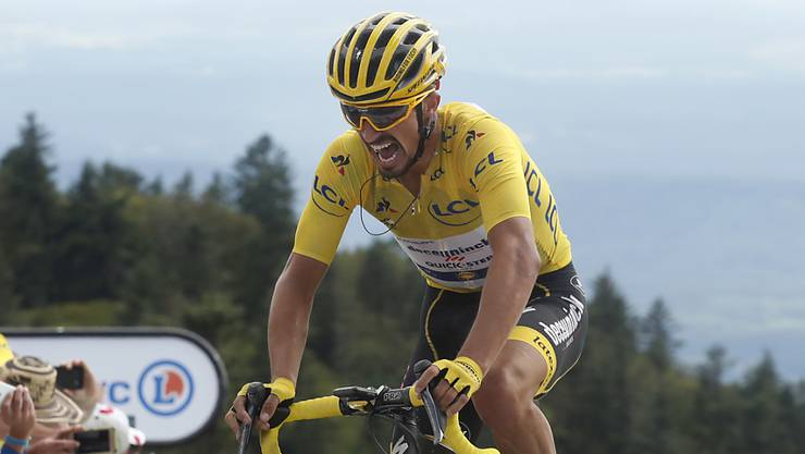 Der Franzose Julian Alaphilippe erobert sich in der 8. Etappe das gelbe Leadertrikot zurück.