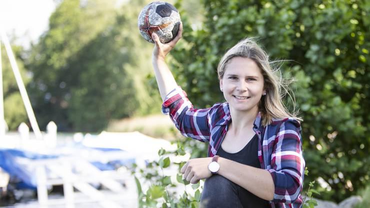 Die Suhrer Handballerin Pascale Wyder erfüllt sich mit ihrem Wechsel in die Bundesliga einen Kindheitstraum.
