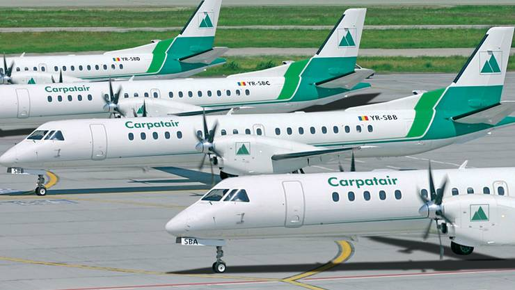 Carpatair hat 20 Millionen Franken Schulden.