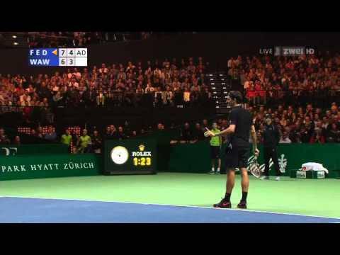 Roger Federer gegen Stan Wawrinka am Match for Africa  – Die Highlights
