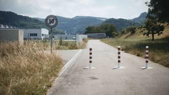 Durchfahrt unmöglich: Die Neumattstrasse.