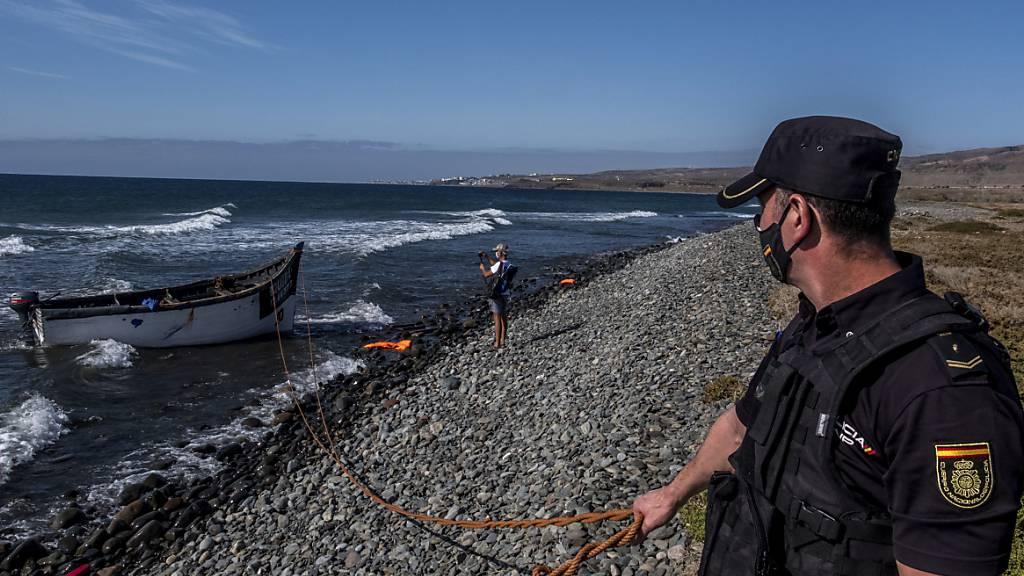 Rekordzahl von mehr als 2'200 Migranten erreicht die Kanaren